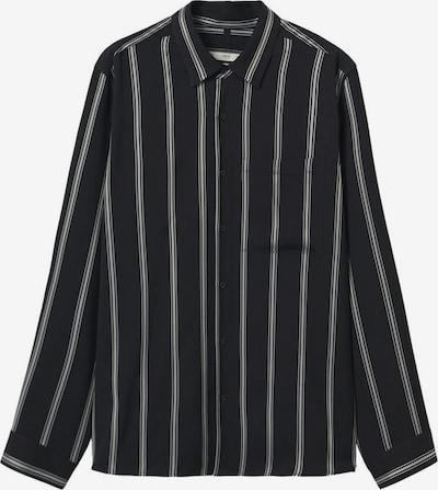 MANGO MAN Hemd 'ruta' in schwarz / weiß, Produktansicht