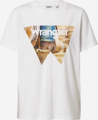 WRANGLER Majica u bijela, Pregled proizvoda