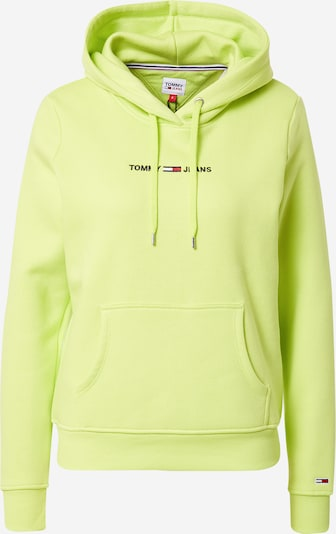 Tommy Jeans Sweatshirt in Navy / Neon yellow / Red / White, Item view