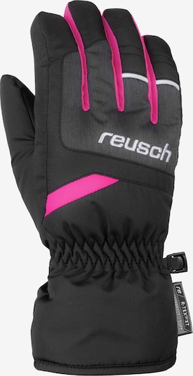 REUSCH Fingerhandschuh 'Bennet R-TEX® XT Junior' in pink / schwarz / schwarzmeliert, Produktansicht