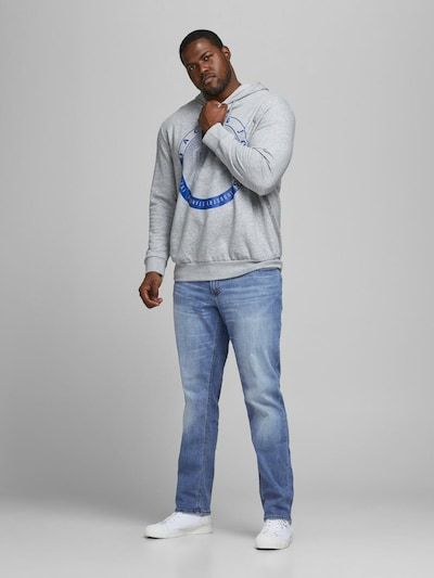 Jack & Jones Plus Jeans 'JIGLENN' in blue denim, Modelansicht