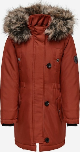 KIDS ONLY Winterjas in de kleur Bruin, Productweergave