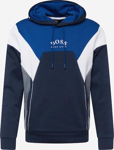 BOSS ATHLEISURE Mikina 'Soody' - námořnická modř / královská modrá / modrý melír / bílá, Produkt