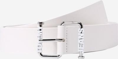 Curea Tommy Jeans pe alb, Vizualizare produs