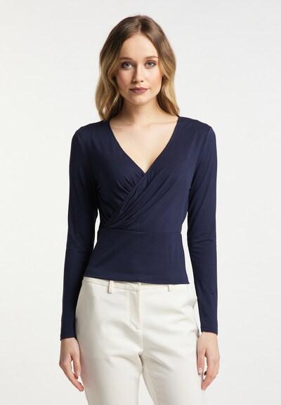 DreiMaster Klassik Shirt in de kleur Blauw: Vooraanzicht