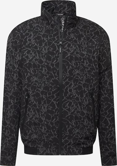Calvin Klein Prijelazna jakna u siva / crna, Pregled proizvoda