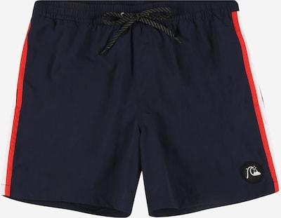 Pantaloncini da bagno QUIKSILVER di colore blu scuro / rosso, Visualizzazione prodotti