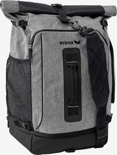 ERIMA Sportrucksack in graumeliert / schwarz, Produktansicht