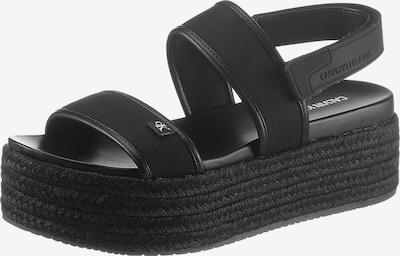 Calvin Klein Sandaal in de kleur Zwart, Productweergave