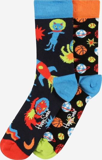 Happy Socks Sockor i marinblå / himmelsblå / blandade färger / orange / röd, Produktvy