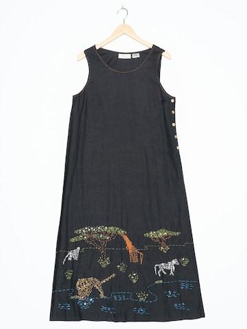 Lemon Grass Dress in L-XL in Black