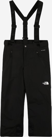 THE NORTH FACE Outdoor trousers 'SNOWQUEST SUSPENDER' in black / white, Item view