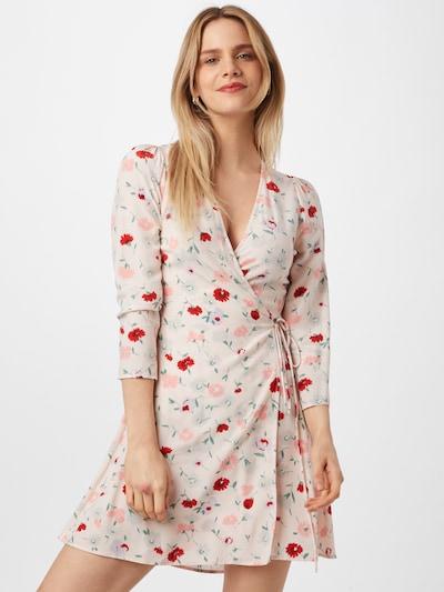 Rochie Samsoe Samsoe pe verde / roz / pudră / roșu, Vizualizare model