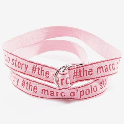 Marc O'Polo Gürtel in XXXL in rosa, Produktansicht