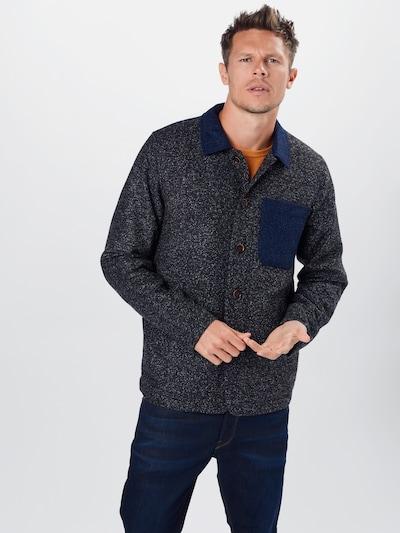 anerkjendt Mantel in blau / dunkelgrau, Modelansicht