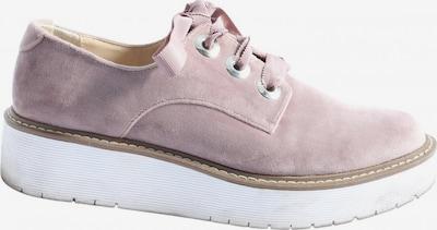 ZARA Schnürsneaker in 38 in pink / weiß, Produktansicht