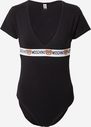 barna / fekete / fehér Moschino Underwear Body, Termék nézet