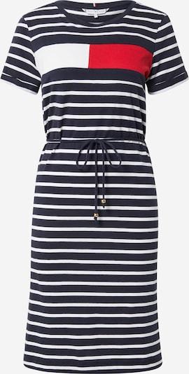 TOMMY HILFIGER Obleka 'ABO' | temno modra / rdeča / bela barva, Prikaz izdelka
