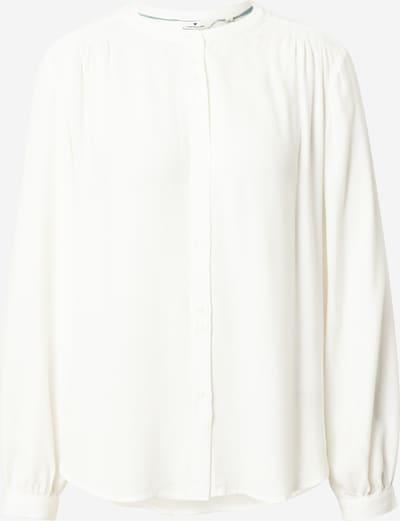 TOM TAILOR Blusa en blanco, Vista del producto