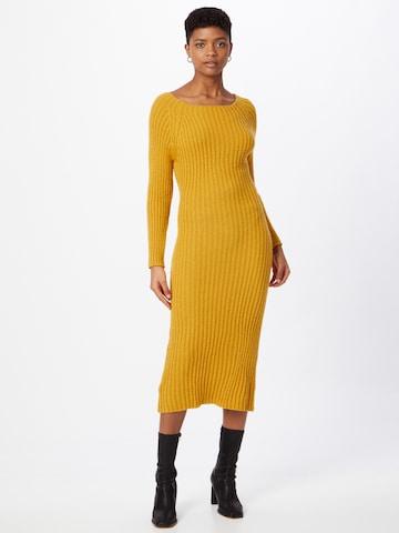 Robes en maille 'LASSIE' WAL G. en jaune