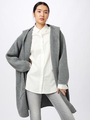 Zwillingsherz Knit Cardigan 'Annabell' in Grey