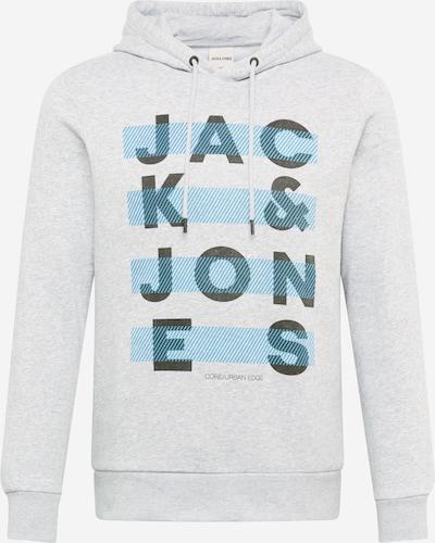JACK & JONES Sweatshirt 'JUMBO' i blå / gråmeleret / sort, Produktvisning