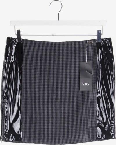 CoSTUME NATIONAL Minirock in L in grau / schwarz, Produktansicht