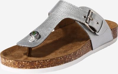 Flip-flops 'MAXI-4' ONLY pe argintiu, Vizualizare produs