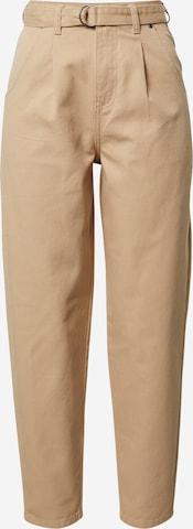 LeGer by Lena Gercke Pleated Jeans 'Angelina' in Beige