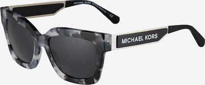 Michael Kors Sonnenbrille 'BERKSHIRES' in grau / schwarz / silber, Produktansicht