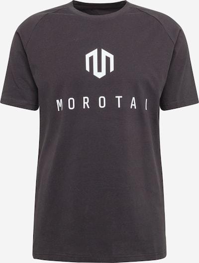 MOROTAI Functioneel shirt 'Corporate Basic' in de kleur Zwart / Wit, Productweergave