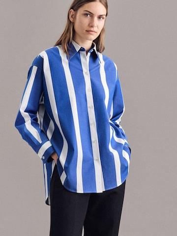 Camicia da donna di SEIDENSTICKER in blu