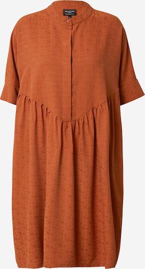 SELECTED FEMME Kleid 'Manila' in rostbraun, Produktansicht