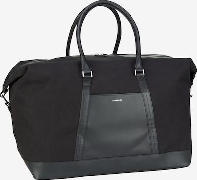 SANDQVIST Reisetasche ' Frans Twill Weekend Bag ' in schwarz, Produktansicht
