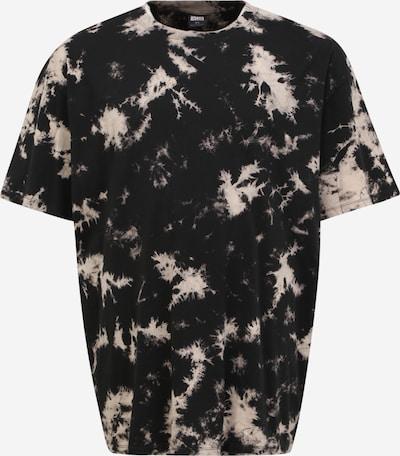 Urban Classics Plus Size Shirt in nude / schwarz, Produktansicht