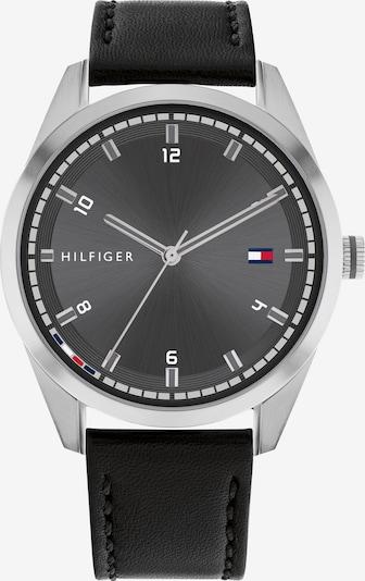 TOMMY HILFIGER Uhr in blau / rot / schwarz / silber / weiß, Produktansicht