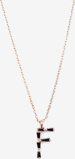 Arion Jewelry Chaîne en or / noir, Vue avec produit