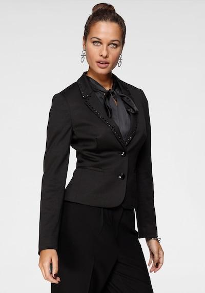 BRUNO BANANI Blazer in schwarz, Modelansicht
