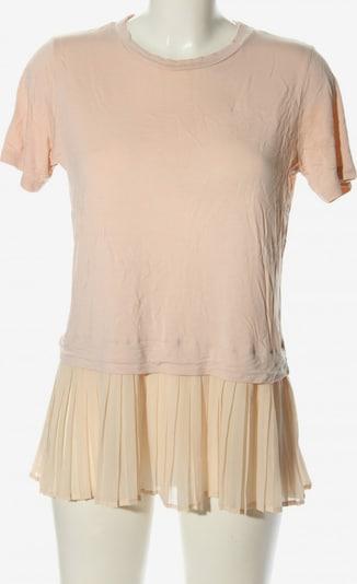 lykkelig T-Shirt in M in creme / pink, Produktansicht
