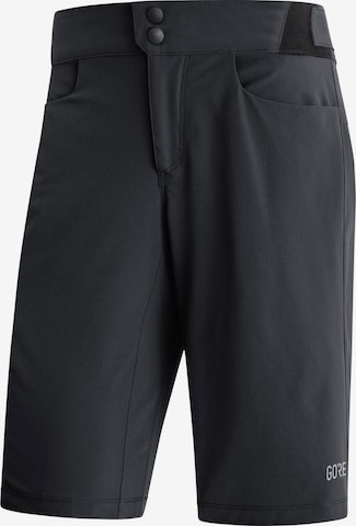 GORE WEAR Workout Pants 'Passion' in Black