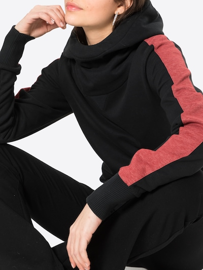 Fli Papigu Sweat-shirt 'Cute but Psycho' en noir, Vue avec produit
