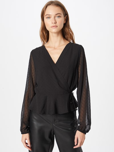 ABOUT YOU Blouse 'Linn' in Black, View model