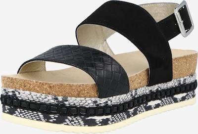 BULLBOXER Sandaal '886018F2T' in de kleur Zwart / Wit, Productweergave