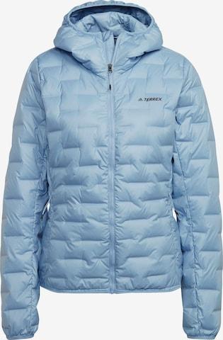 adidas Terrex Outdoor Jacket in Blue