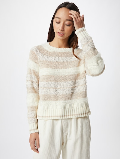 ONLY Pullover 'Adelle' in beige / offwhite, Modelansicht