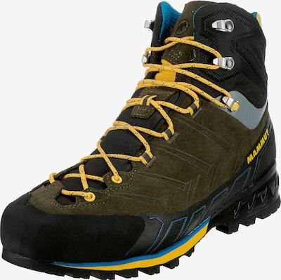 MAMMUT Boots 'Kento Tour High GTX®' in Dark yellow / Grey / Dark green / Black, Item view