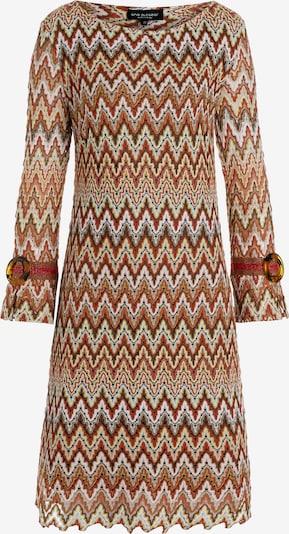 Ana Alcazar Kleid 'Zaly' in braun / rostrot, Produktansicht