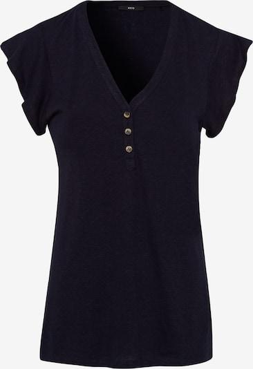 zero Shirt in dunkelblau, Produktansicht
