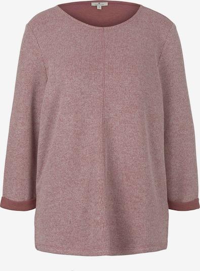 TOM TAILOR Sweatshirt in hellpink / dunkelpink, Produktansicht