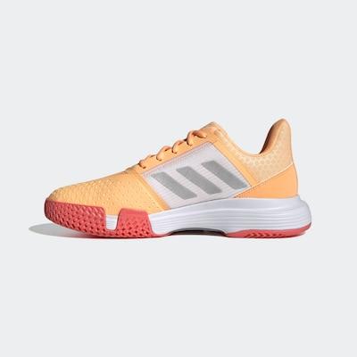 ADIDAS PERFORMANCE ' CourtJam Bounce Schuh ' in grau / orange, Produktansicht